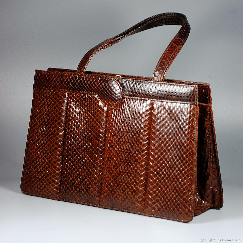 b1c27ddbe17a Винтажные сумки и кошельки. Ярмарка Мастеров - ручная работа. Купить  Винтаж: Винтажная сумка ...
