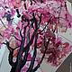 """Зонты ручной работы. Заказать Зонт с ручной росписью """"Красное дерево"""". Umbrella Fine Art. Ярмарка Мастеров. Зонт-трость"""