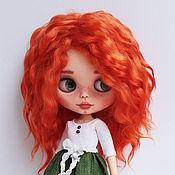 Куклы и игрушки ручной работы. Ярмарка Мастеров - ручная работа Кукла Блайз Агния Blythe Doll. Handmade.