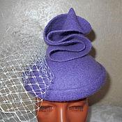 """Шляпы ручной работы. Ярмарка Мастеров - ручная работа Шляпка коктейльная """"ГРЕЗЫ"""". Handmade."""