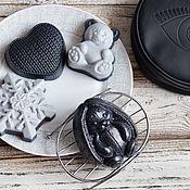 Мыло ручной работы. Ярмарка Мастеров - ручная работа Мыльный набор BLACK. Handmade.