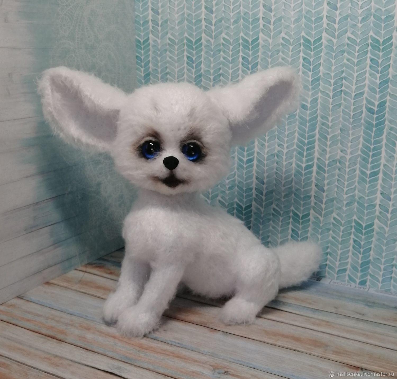 Fennec Fox Friendship Bracelet. White Fox, Stuffed Toys, Angarsk,  Фото №1