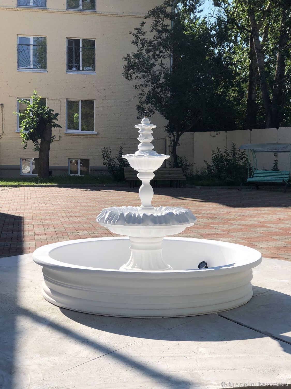 наши современные фонтаны из бетона фото знаю