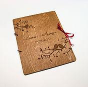 Папки ручной работы. Ярмарка Мастеров - ручная работа Папка для свидетельства о браке. Птички на ветке. Handmade.