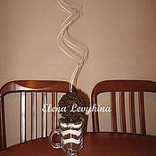 Цветы и флористика ручной работы. Ярмарка Мастеров - ручная работа Кофейная композиция. Handmade.