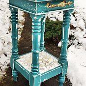 Для дома и интерьера ручной работы. Ярмарка Мастеров - ручная работа Столик с мозаикой. Handmade.
