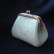 Сумки и аксессуары handmade. Livemaster - original item Wallet with clasp