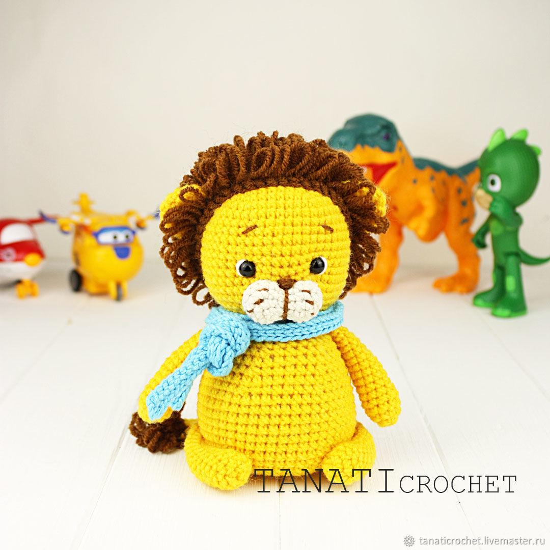 Схемы: Маленький львёнок, Схемы для вязания, Киев,  Фото №1