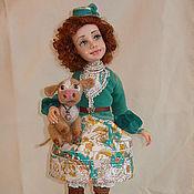 """Куклы и игрушки ручной работы. Ярмарка Мастеров - ручная работа Авторская Кукла """"Мишель"""" из полимерной глины. Handmade."""