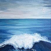 Картины ручной работы. Ярмарка Мастеров - ручная работа Картины: Океан моей души (2). Handmade.