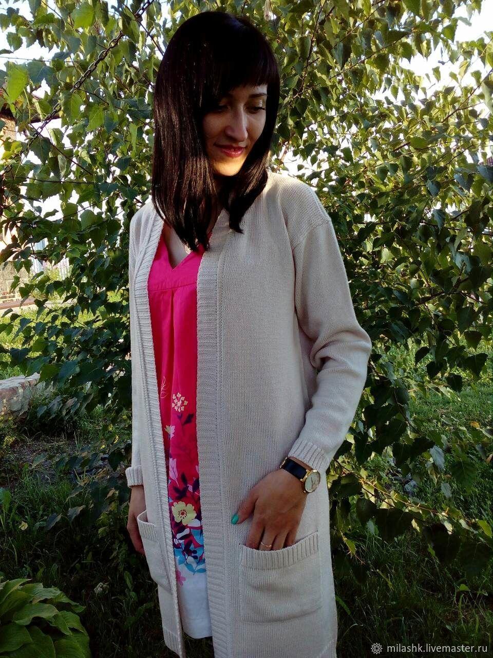 Knitted cardigan coat, Cardigans, Belgorod,  Фото №1