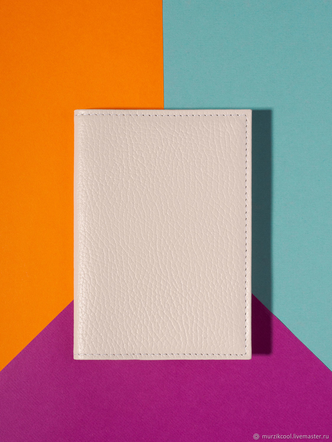 Passport cover 'Classic' Milk, Cover, Moscow,  Фото №1