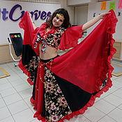 Одежда ручной работы. Ярмарка Мастеров - ручная работа Цыганский костюм карнавальный. Handmade.