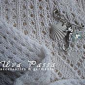 Одежда ручной работы. Ярмарка Мастеров - ручная работа Пуловер женский Прогулка у моря. Handmade.