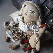 Куклы и игрушки ручной работы. Ярмарка Мастеров - ручная работа Валентина и гусь.. Handmade.