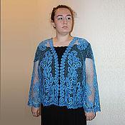 Одежда handmade. Livemaster - original item IRINA Vyatskoye jacket, Vologda lace. Handmade.
