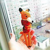 Мягкие игрушки ручной работы. Ярмарка Мастеров - ручная работа Мягкие игрушки: Лисичка. Handmade.