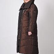 Одежда ручной работы. Ярмарка Мастеров - ручная работа Пальто женское демисезонное Диагональ. Handmade.