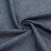 Материалы для творчества ручной работы. Ярмарка Мастеров - ручная работа Жаккард шелковый темно-синий S.FERRAGAMO. Handmade.