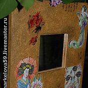 """Для дома и интерьера ручной работы. Ярмарка Мастеров - ручная работа Зеркало """"Соблазн"""". Handmade."""