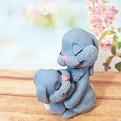 Косметика ручной работы handmade. Livemaster - original item Soap cute bunnies handmade as a gift to buy for children to order Moscow. Handmade.