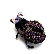 Украшения handmade. Livemaster - original item The brooch Susan Violette. Handmade.