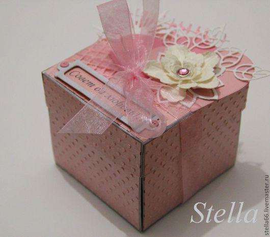 Конверты для денег ручной работы. Ярмарка Мастеров - ручная работа. Купить Мэджик бокс (Свадебная подарочная коробочка для денежного подарка).... Handmade.