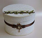 Свадебный салон ручной работы. Ярмарка Мастеров - ручная работа Свадебная коробка - казна. Handmade.