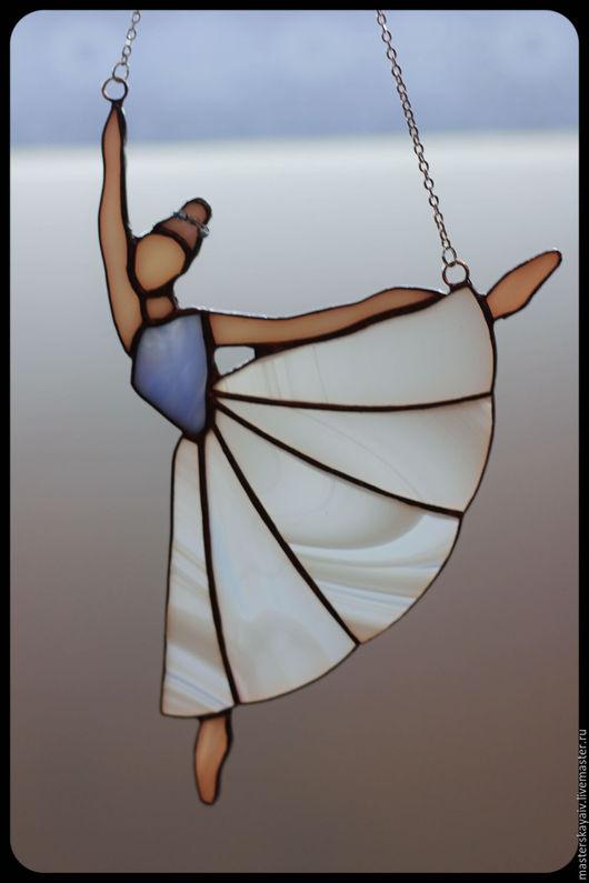 Элементы интерьера ручной работы. Ярмарка Мастеров - ручная работа. Купить Балерина. Handmade. Витраж Тиффани, авторская ручная работа