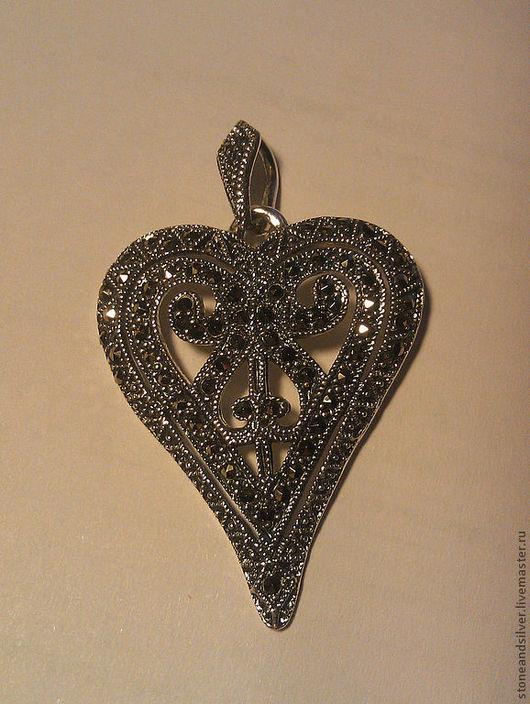"""Кулоны, подвески ручной работы. Ярмарка Мастеров - ручная работа. Купить Подвеска """"Сердце"""". Handmade. Серебряный, сердце, подвеска сердце"""