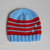 Работы для детей, handmade. Livemaster - original item Knitted beanie for toddler. Handmade.