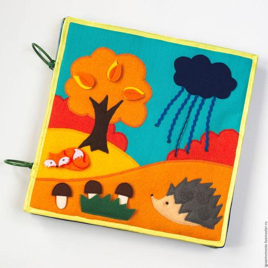 развивающая игрушка из фетра, развивающие игрушки, развивающая книга из фетра, тактильная книжка, тактильная книга, развивашка, развивающая книжка из фетра, мягкая тактильная книга из фетра