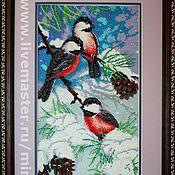 handmade. Livemaster - original item Interior Decoration. Embroidered picture. Handmade.