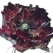 Скульптуры ручной работы. Ярмарка Мастеров - ручная работа цветы из бумаги, бумажные цветы, марсала,большие бумажные цветы. Handmade.
