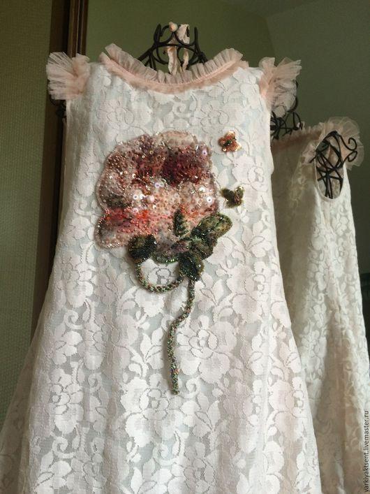 Одежда для девочек, ручной работы. Ярмарка Мастеров - ручная работа. Купить Платье ПЛТГ 2082 Бал цветов Розы. Handmade.