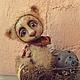 Мишки Тедди ручной работы. Ярмарка Мастеров - ручная работа. Купить мишка Барни. Handmade. Коричневый, мишка, das