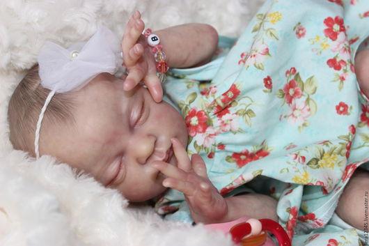 Куклы-младенцы и reborn ручной работы. Ярмарка Мастеров - ручная работа. Купить Кнопочка Рози. Handmade. Бежевый, Молд