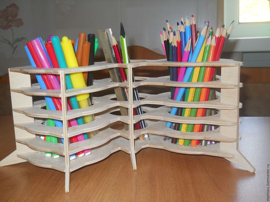 Карандашницы ручной работы. Ярмарка Мастеров - ручная работа. Купить карандашница. Handmade. Белый, закладка для книг
