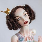 Куклы и игрушки handmade. Livemaster - original item Laura, jointed porcelain doll. Handmade.