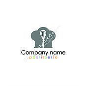 Дизайн и реклама ручной работы. Ярмарка Мастеров - ручная работа Логотип для кондитерской. Handmade.