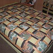 Для дома и интерьера ручной работы. Ярмарка Мастеров - ручная работа лоскутное покрывало Тепло дома. Handmade.