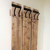 Для дома и интерьера handmade. Livemaster - original item Clothes hanger wall mounted