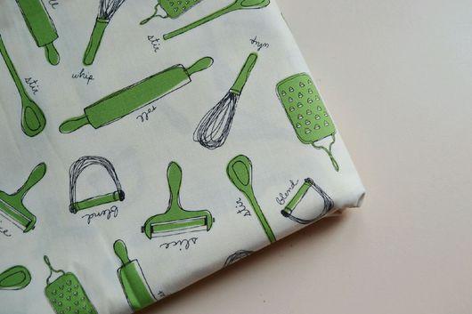 """Шитье ручной работы. Ярмарка Мастеров - ручная работа. Купить Ткань хлопок американский Распродажа """"кухня"""". Handmade. Комбинированный"""
