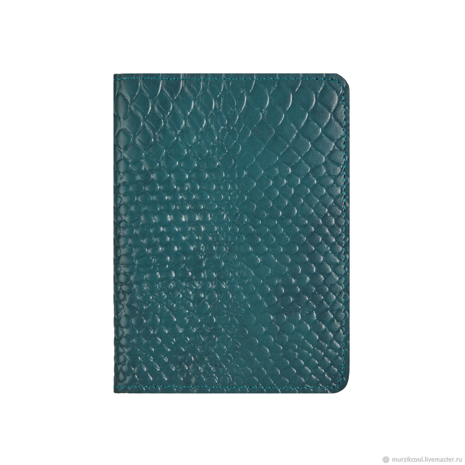 Passport cover 'Euro' Emerald Python, Passport cover, Moscow,  Фото №1