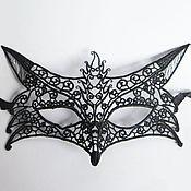 Одежда ручной работы. Ярмарка Мастеров - ручная работа Кружевная маска Лиса. Handmade.