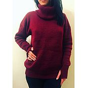 Одежда handmade. Livemaster - original item Sweater knitted oversized. Handmade.