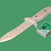 Материалы для творчества ручной работы. Ярмарка Мастеров - ручная работа Нож деревянный. Handmade.