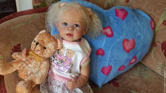 Куклы-младенцы и reborn ручной работы. Ярмарка Мастеров - ручная работа. Купить ДЭЯ Dee Dee от Linda Murray.. Handmade.