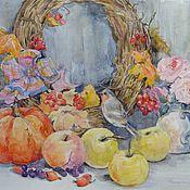 Картины и панно ручной работы. Ярмарка Мастеров - ручная работа Натюрморт с птичкой. Handmade.