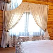 Для дома и интерьера handmade. Livemaster - original item Textiles for a country house!Turnkey curtains!. Handmade.